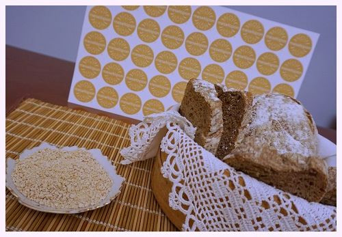 Greek Traditional Baker's Yeast With Hops For Leaven From Drama Make Homemade Bread Or Pastry Close Photo